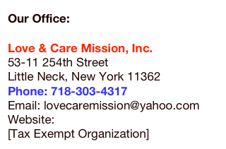 Our Office: